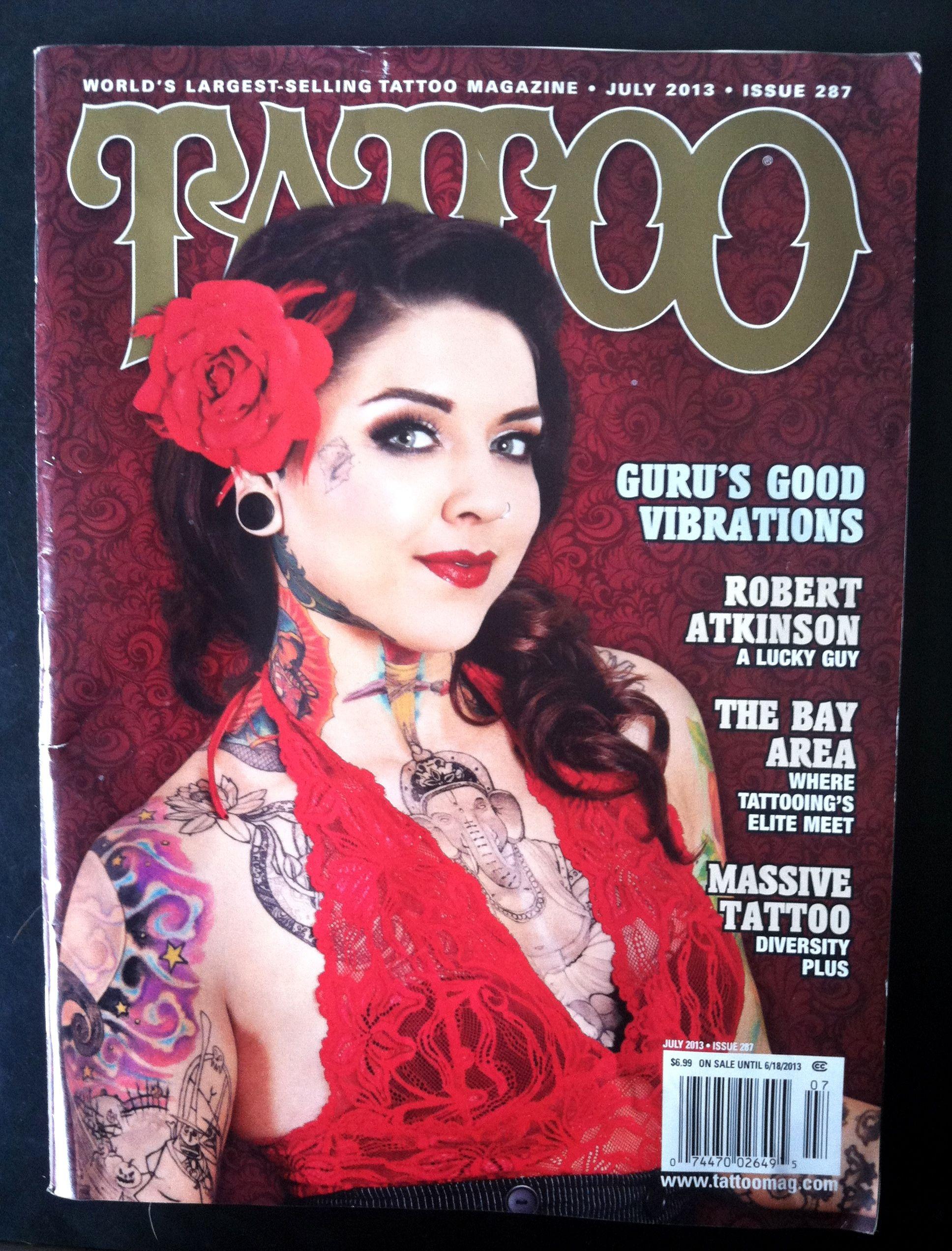 tattoo magazine   Tattoo Magazine July 2013 My back piece is ...