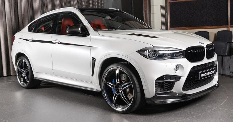 Bmw X6 M By 3d Design Brings Some Extra Bling In The Middle East Carscoops Bmw X6 Bmw Bmw Suv
