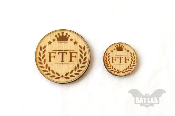 Ftf Geocaching From Wood Pair Geocache Prize Engraved Winning
