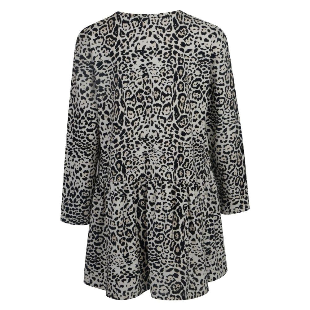 Roberto Cavalli Kids Girls Leopard Print Dress With
