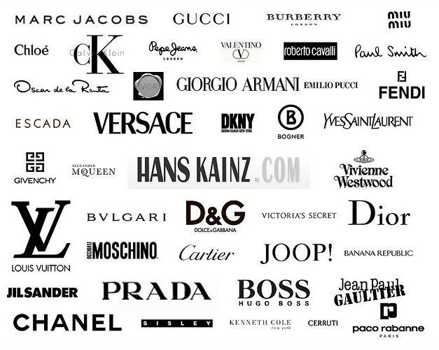 image result for clothing designer logos crafts and home projects rh pinterest com famous brand logos clothing famous brand logos clothing