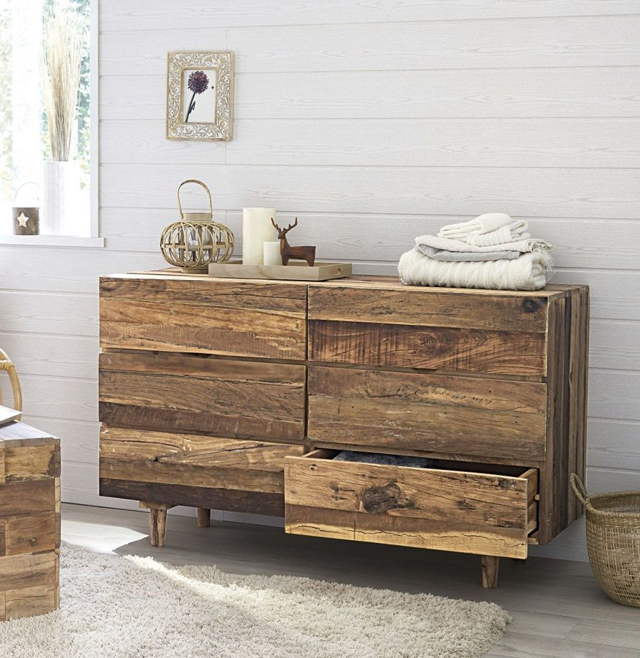 commode double 6 tiroirs tennessee en