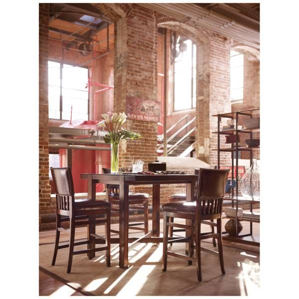 Modern Craftsmanpub Table  Stanley Furniture  Dining Room Classy Stanley Dining Room Set 2018
