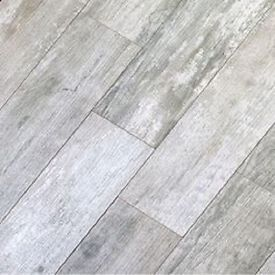 Gray Vinyl Flooring That Looks Like Wood 35 Sq Ft 8x48