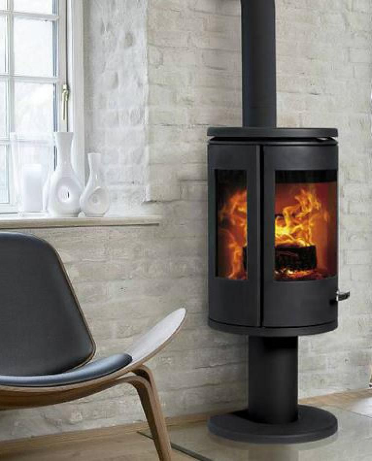 Morso 7948 Wood Burning Stove - Images Of Rooms With Modern Wood Stoves Solea Compact Rotating