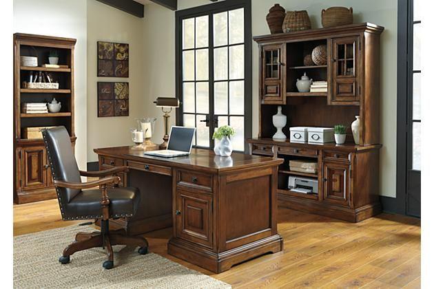 Ashley Gaylon Home Office Desk Chair H704 01a Ashleyfurniture H70401a Furnitu Home Office Design Home Office Furniture Sets Office Furniture Set