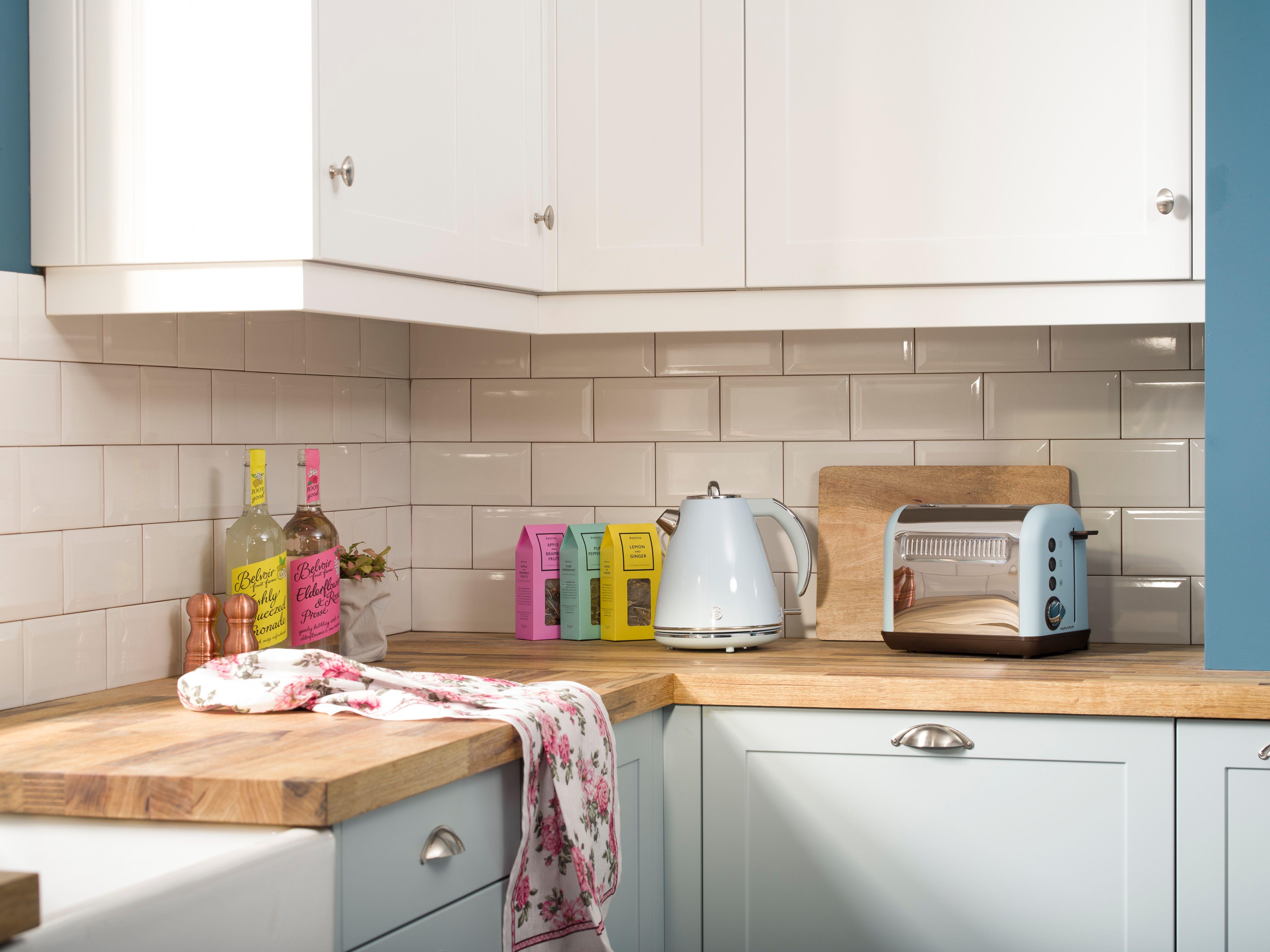Worktop Ice cream shades in the kitchen Cool kitchens