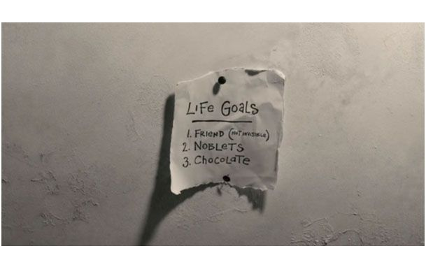 life goals- Mary & Max - chocolate