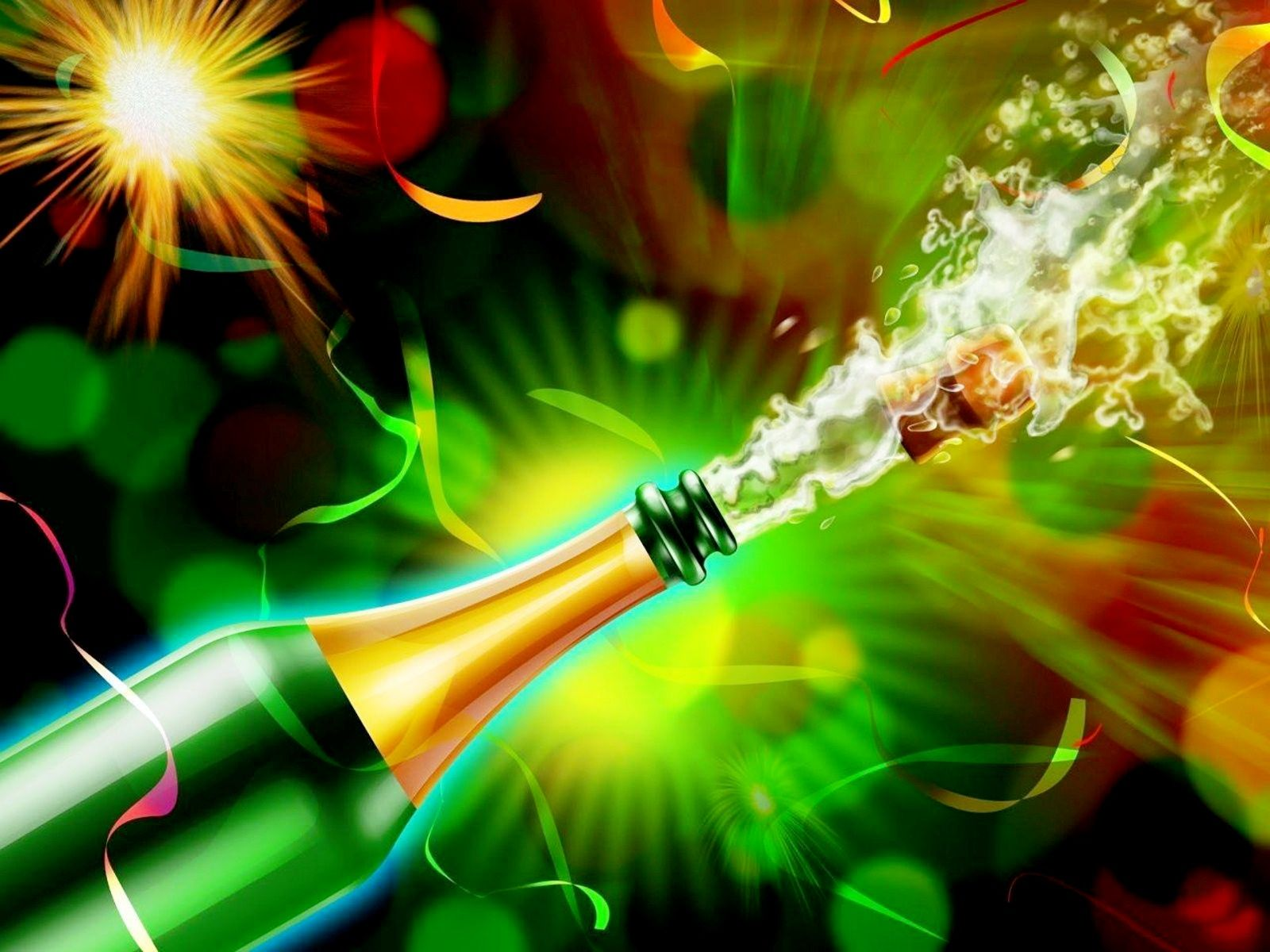 hd 3d New Year eve wallpapers Happy new year wallpaper