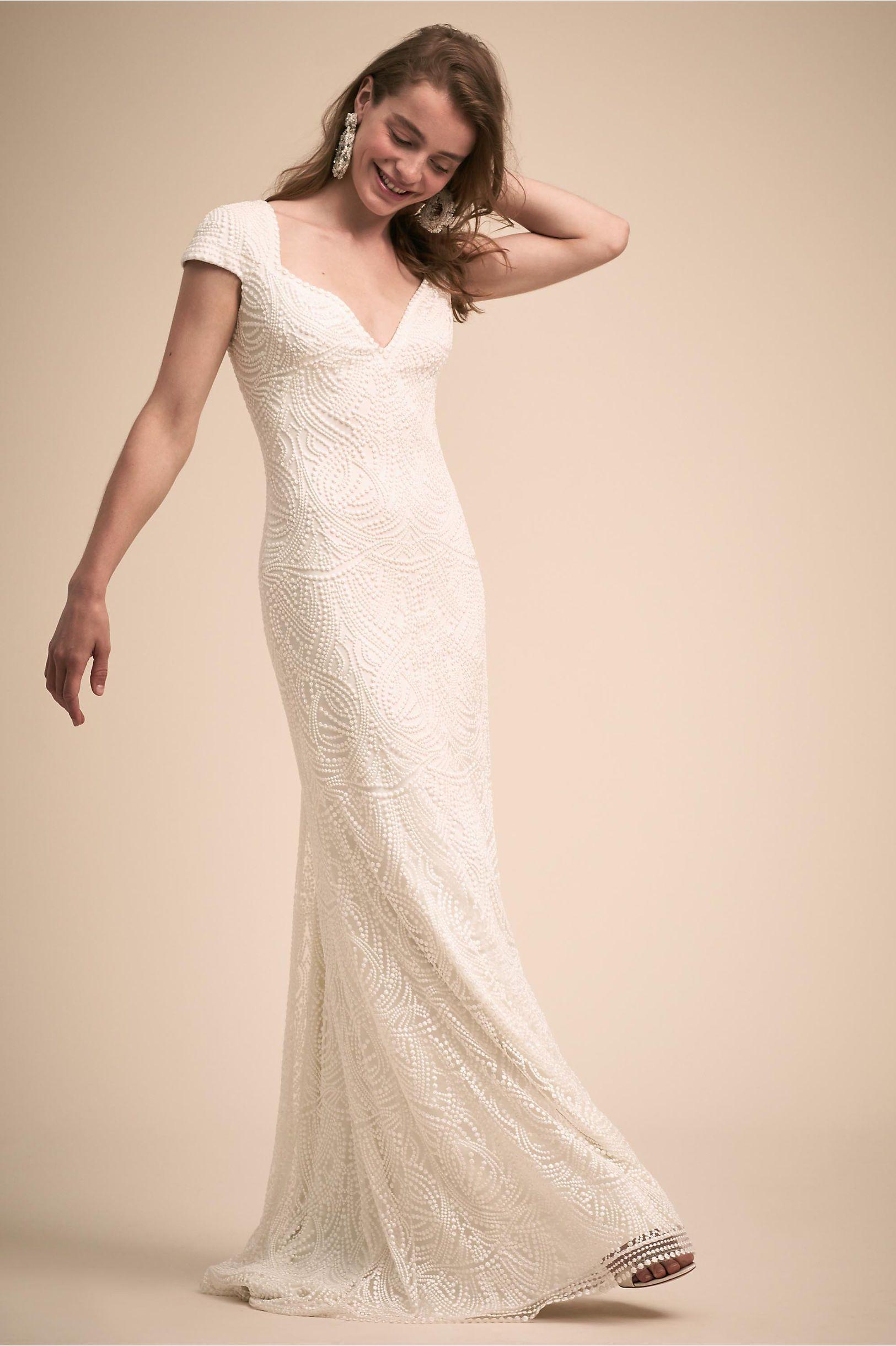 Leeds Gown | Tadashi shoji wedding
