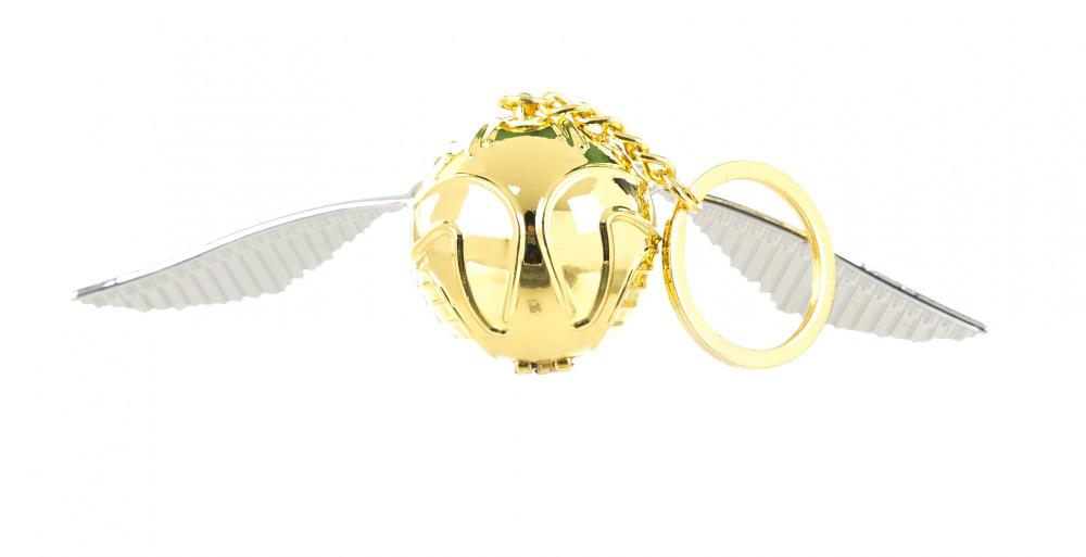 Harry Potter Golden Snitch 3D Keyring Golden snitch