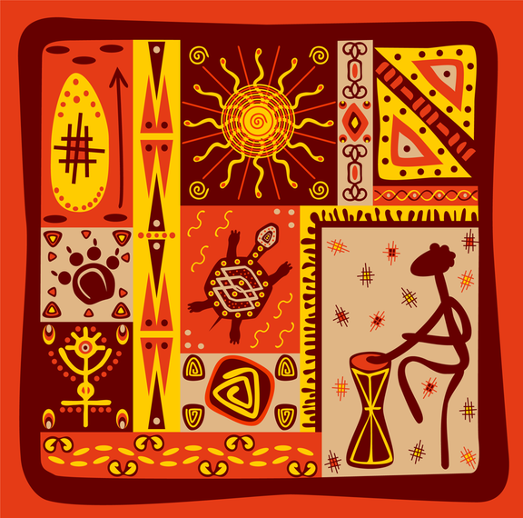 Classical Tribal Totem Vector 4 #AD , #Aff, #AFFILIATE, #Tribal, #Totem, #Vector, #Classical