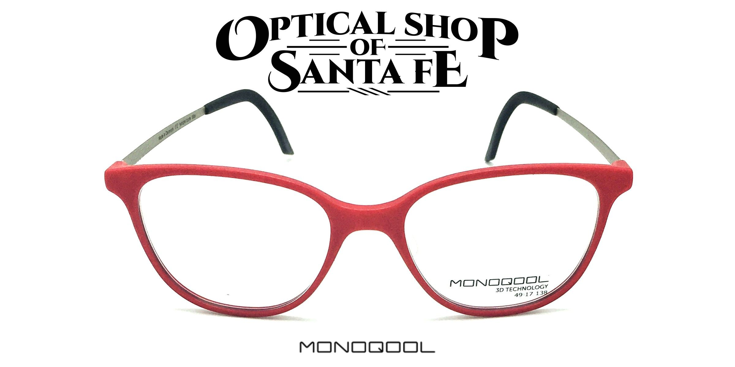 Monoqool 3D Printed Eyeglasses Eyewear - Monoqool  Optical -