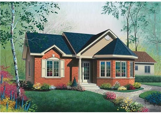 Small Cottage 1000 Sq Ft Porch Featured Bungalows House