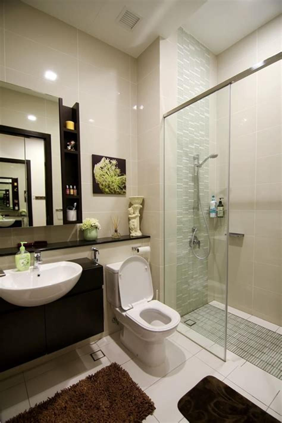 36 Affordable Simple Bathroom Decor And Design Ideas Homenthusiastic Simple Bathroom Simple Bathroom Decor Bathroom Design