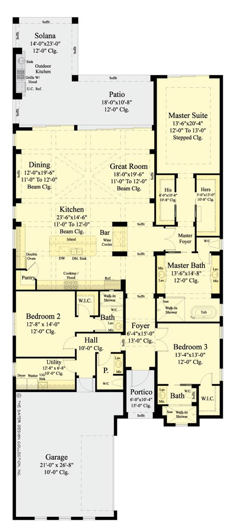 The Anvard House Plan Narrow House Plans