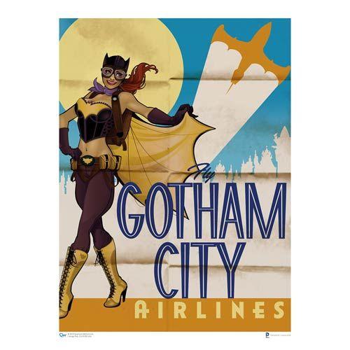 DC Bombshells Batgirl Art Print - Quantum Mechanix - Batman - Artwork at Entertainment Earth