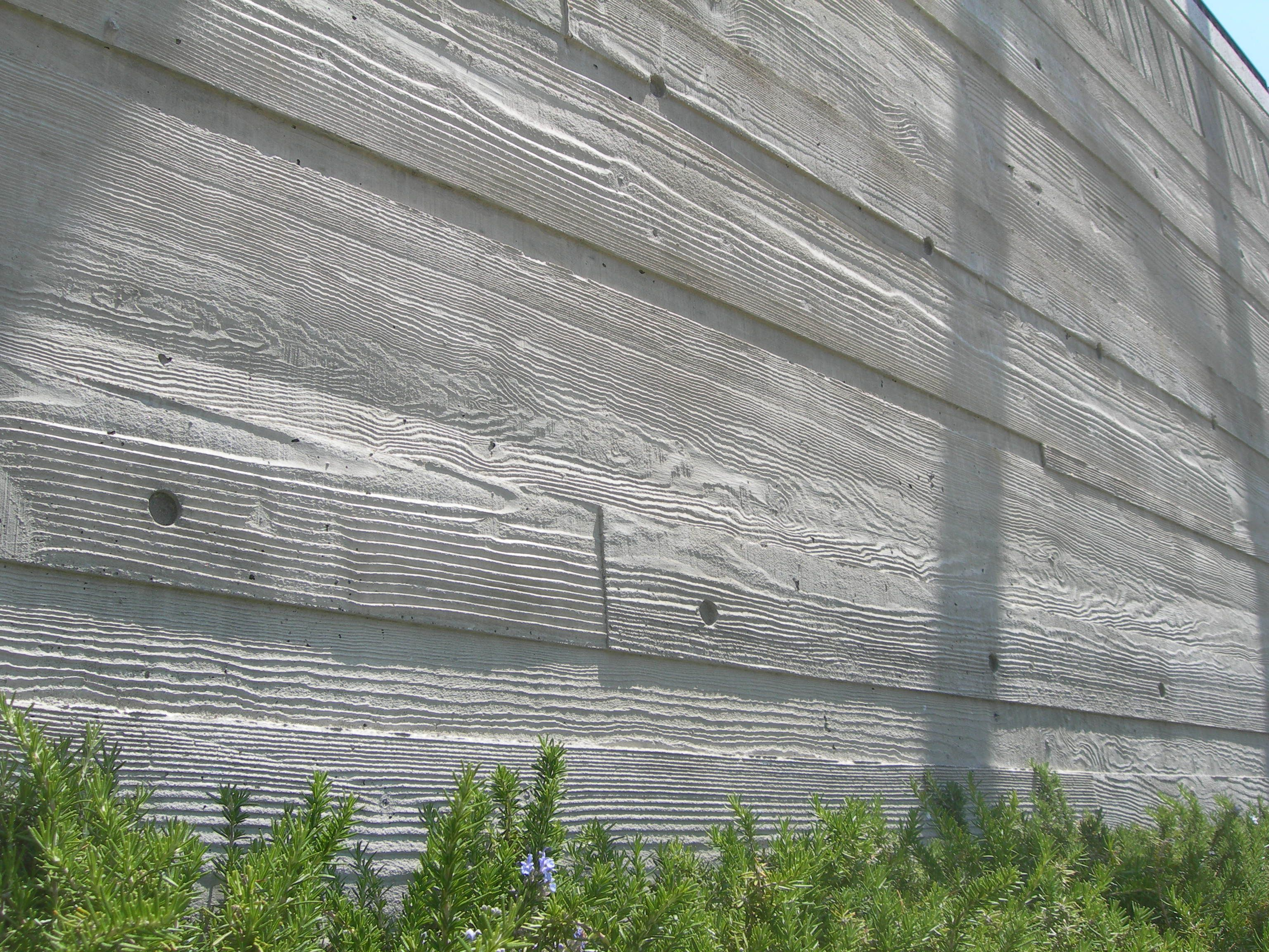 Image Result For Board Formed Concrete Napa House