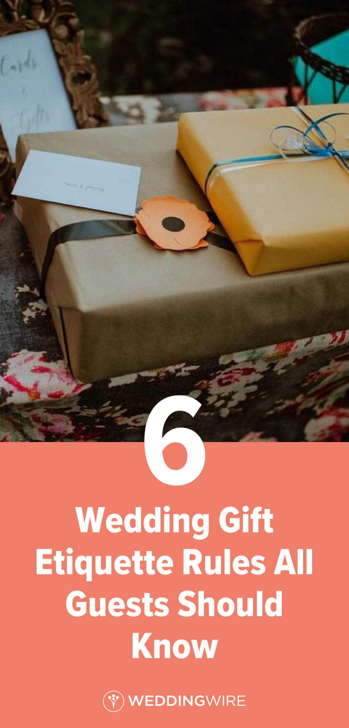 6 Wedding Gift Etiquette Rules All Guests Should Know In 2020 Wedding Gift Etiquette Wedding Etiquette Wedding Guest Etiquette