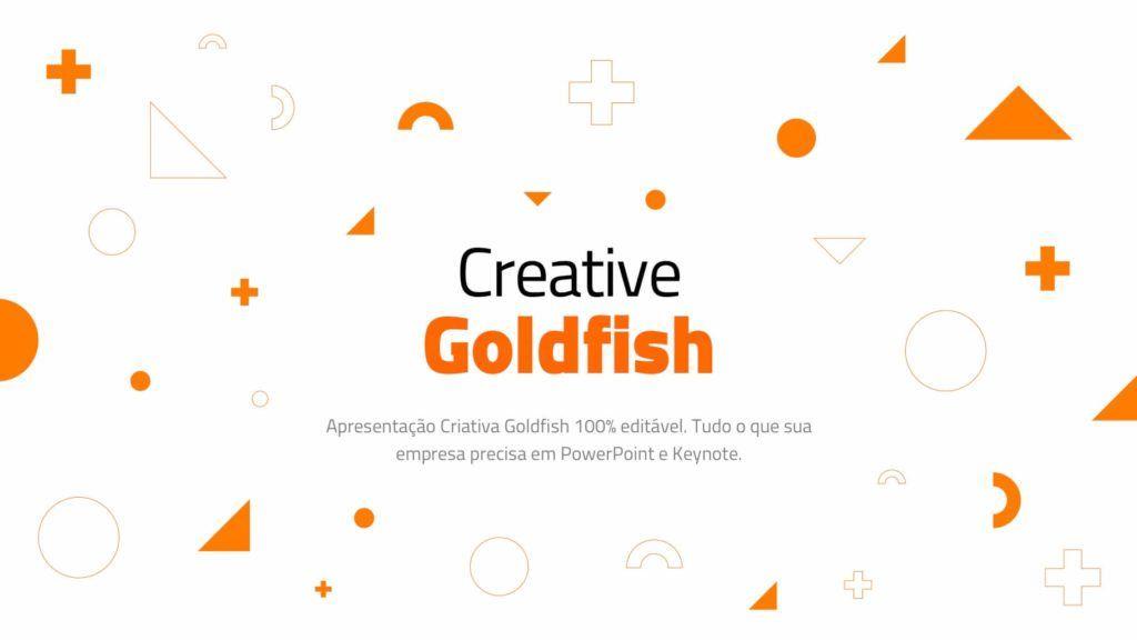 Apresentacao Criativa Multi Uso Goldfish Em Powerpoint