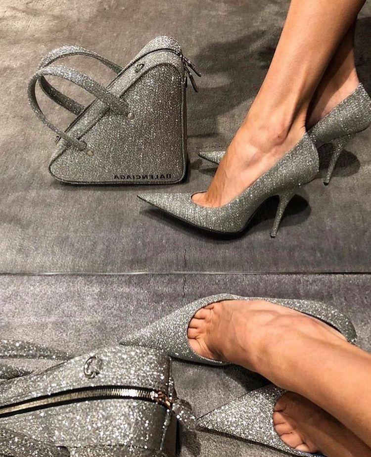 Sparkly Balenciaga in 2020   Heels