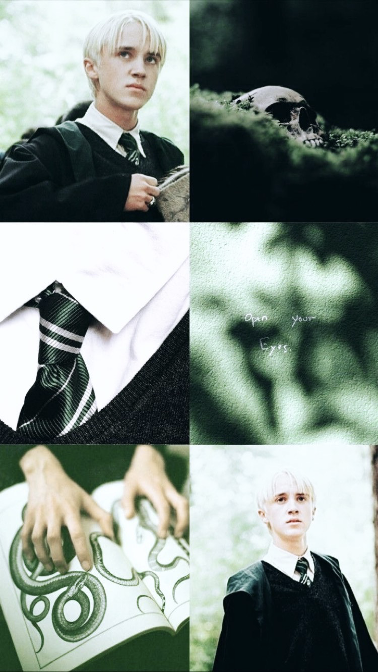 Pin By Grace Medeiros On Iphone Ipad Wallpapers Backgrounds Draco Harry Potter Slytherin Harry Potter Harry Potter Draco Malfoy