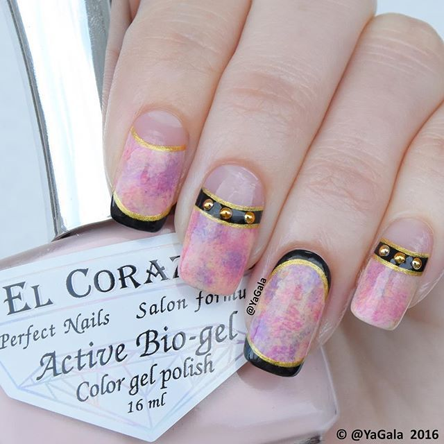 Nail design from Japanese nail art magazine Video is available on my ...
