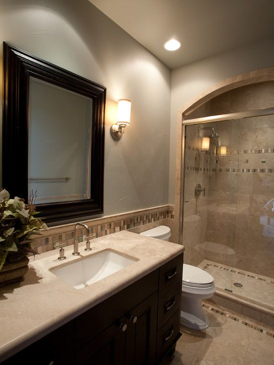 Small space bathrooms house plans pinterest small space bathroom small spaces and spaces - Small bathroom space pict ...