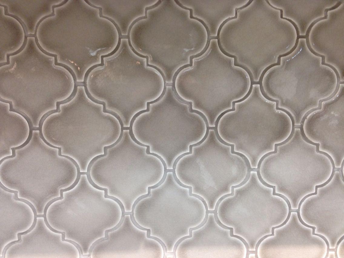 Dove Gray Arabesque Tile From Kensington Kitchen And Bath