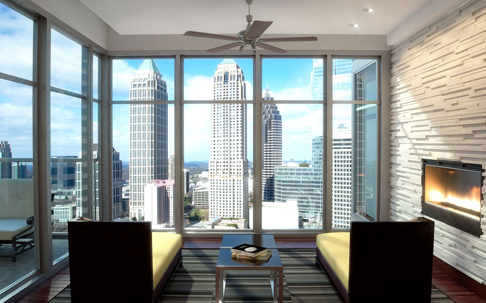 77 12th - Amenities | Tiny apartment living, High rise ...