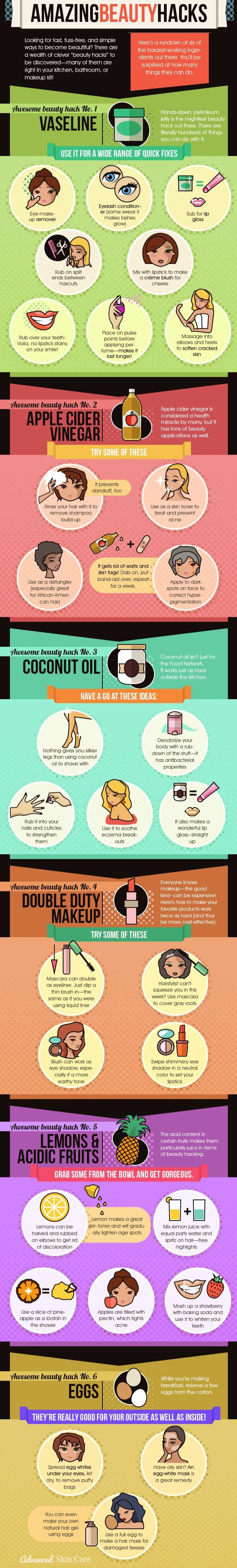 Beauty does not have to be costly.  Checkout these simple and inexpensive beauty hacks you can easily incorporate into your daily beauty routine.