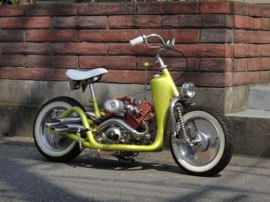 ide modifikasi motor honda c 70