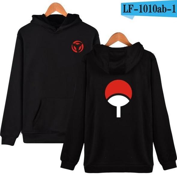 BTS Naruto Hoodies Sweatshirts Uchiha Syaringan Hooded Boys