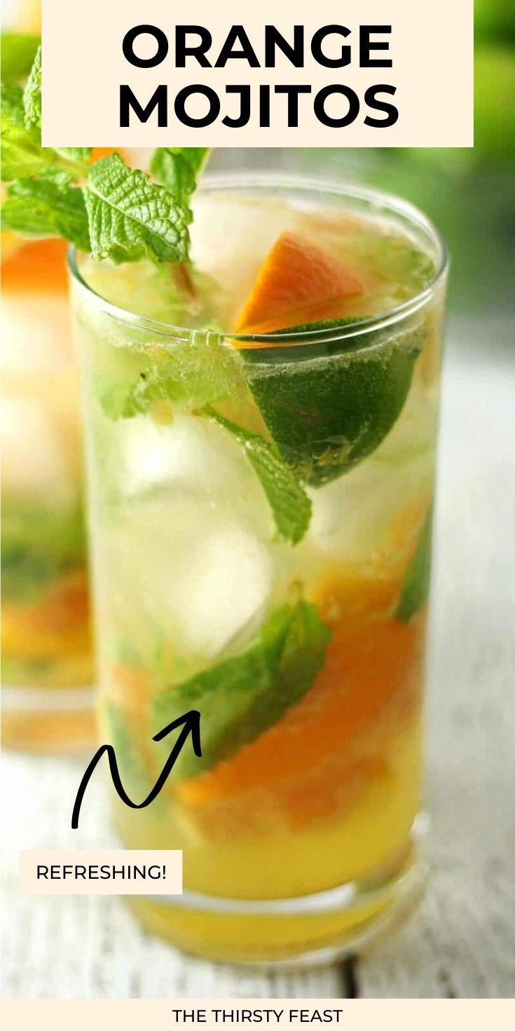 Orange Mojitos