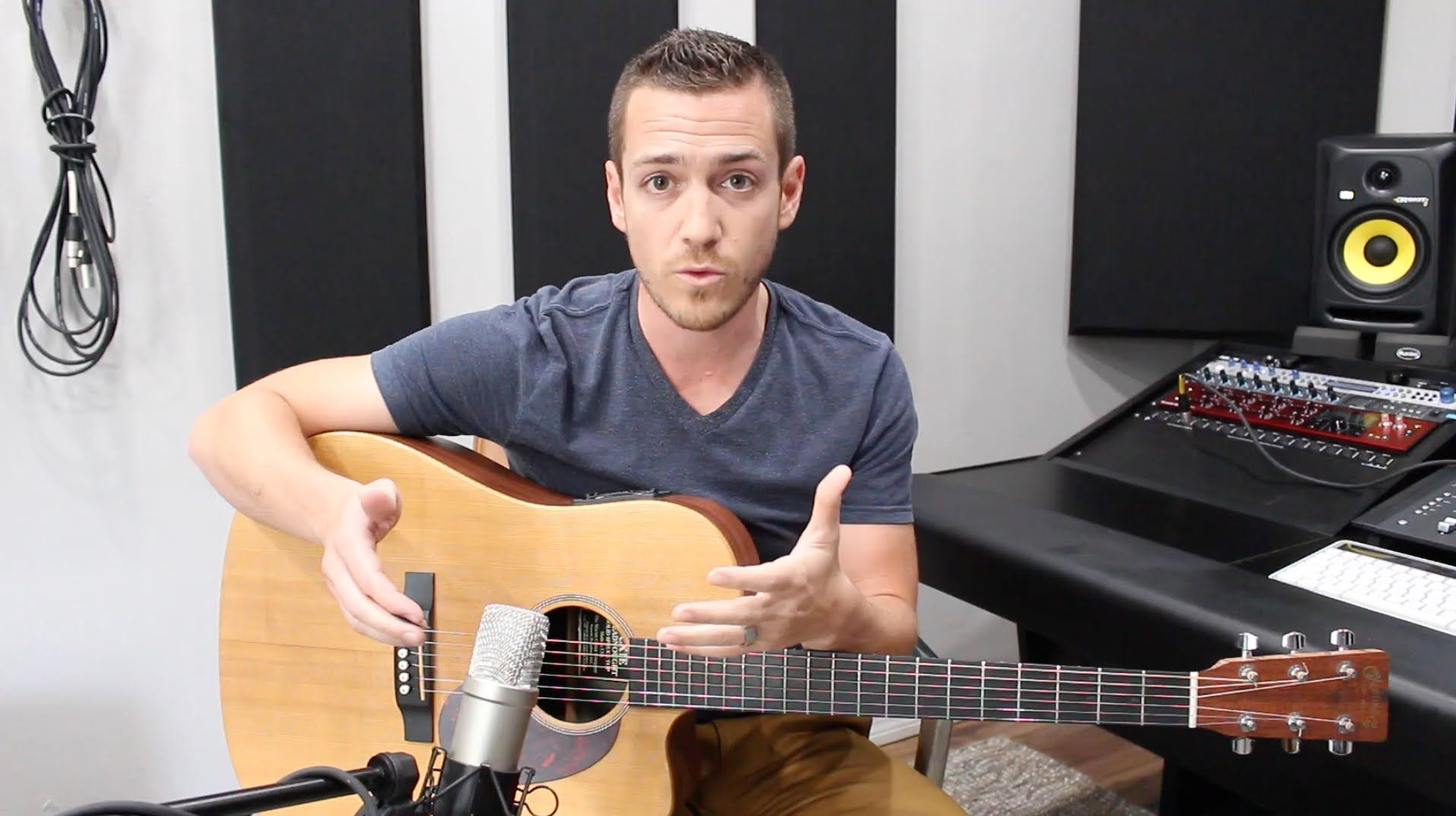 Recording Acoustic Guitar My Foolproof Method Therecordingrevolution Com In 2020 Acoustic Guitar Guitar Acoustic