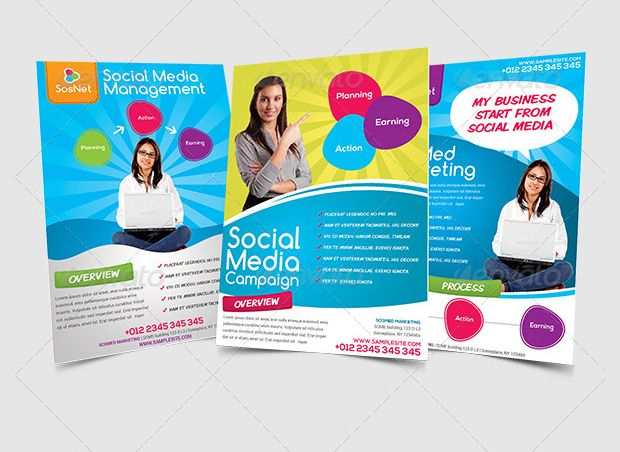 Marketing Flyer Templates  Printable Psd Ai Vector Eps