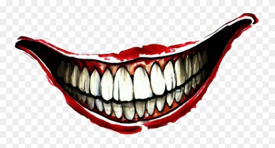 Venom Grin Vector: Jokers Smile Tattoo On Hand