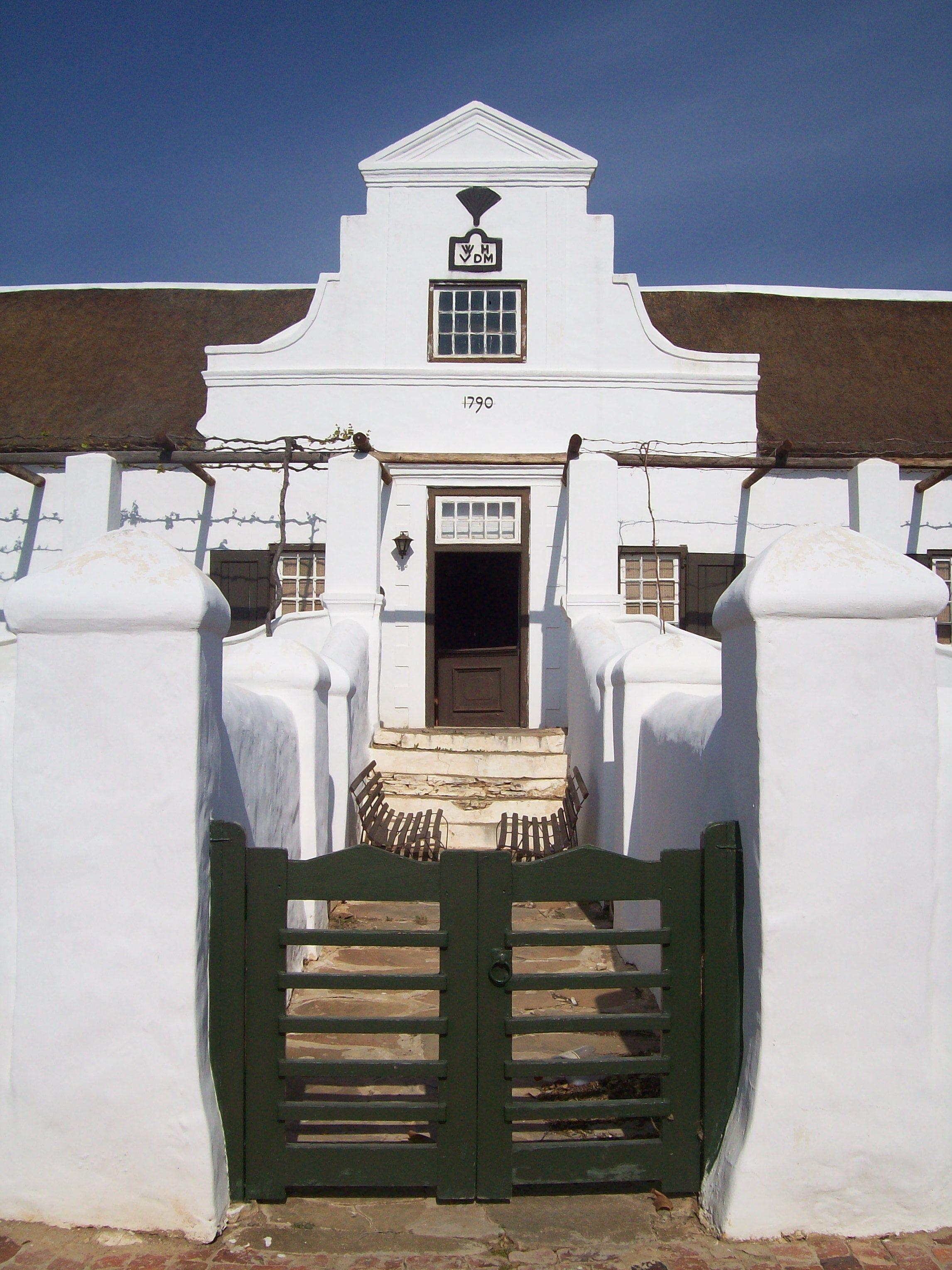Doornrivier near worcester south africa built in 1790 by van der merwe photo by lynell ann roux