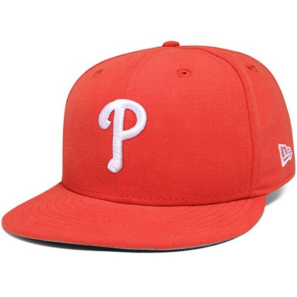 competitive price fashion order Philadelphia Phillies New Era Basic 59FIFTY Fitted Hat - Glaze Red ...
