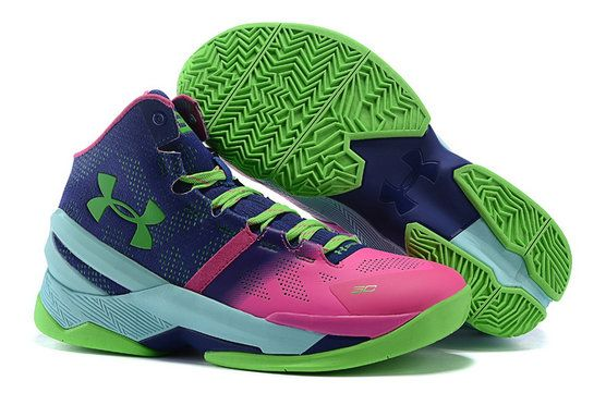 dc4c0b8ee320 2017-2018 Sale UA Curry 3 Wholesale UA Curry 2 Rose Green Basketball Shoe  For