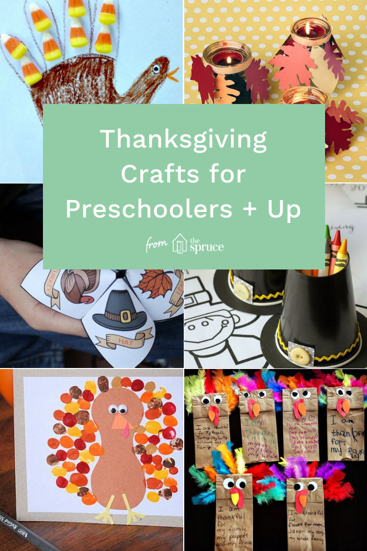 19 Easy Thanksgiving Crafts for Preschoolers & Elementary ...