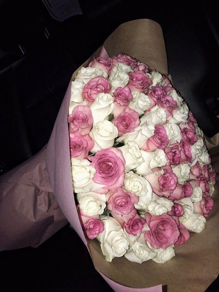 #цветы #цветочки #цветки #букет #пионы #розы #ромашки # ...  Цветочки Розы