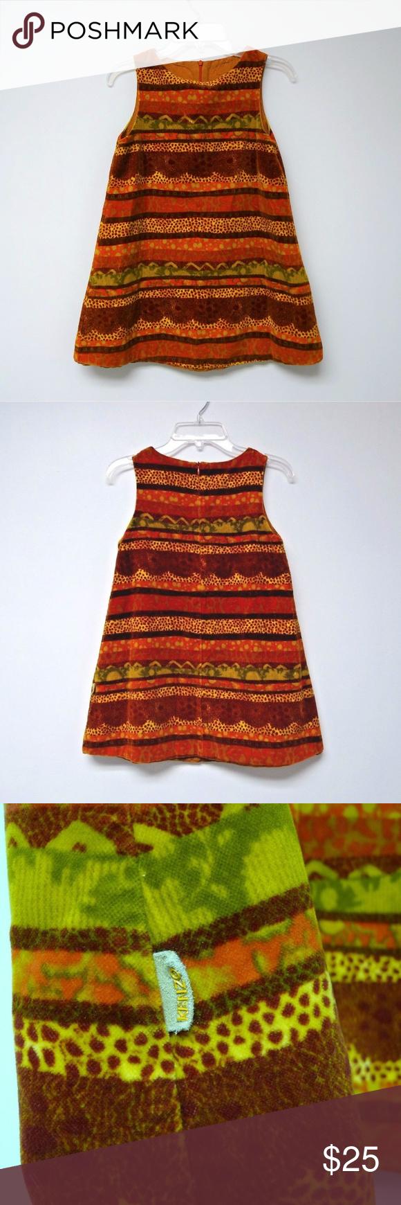 0b4e4561e3c21 Jungle printed colorful velvet C.W.F (Children Worldwide Fashion) zipper  back care