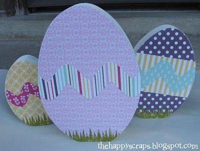 Easter Eggs #thehappyscraps