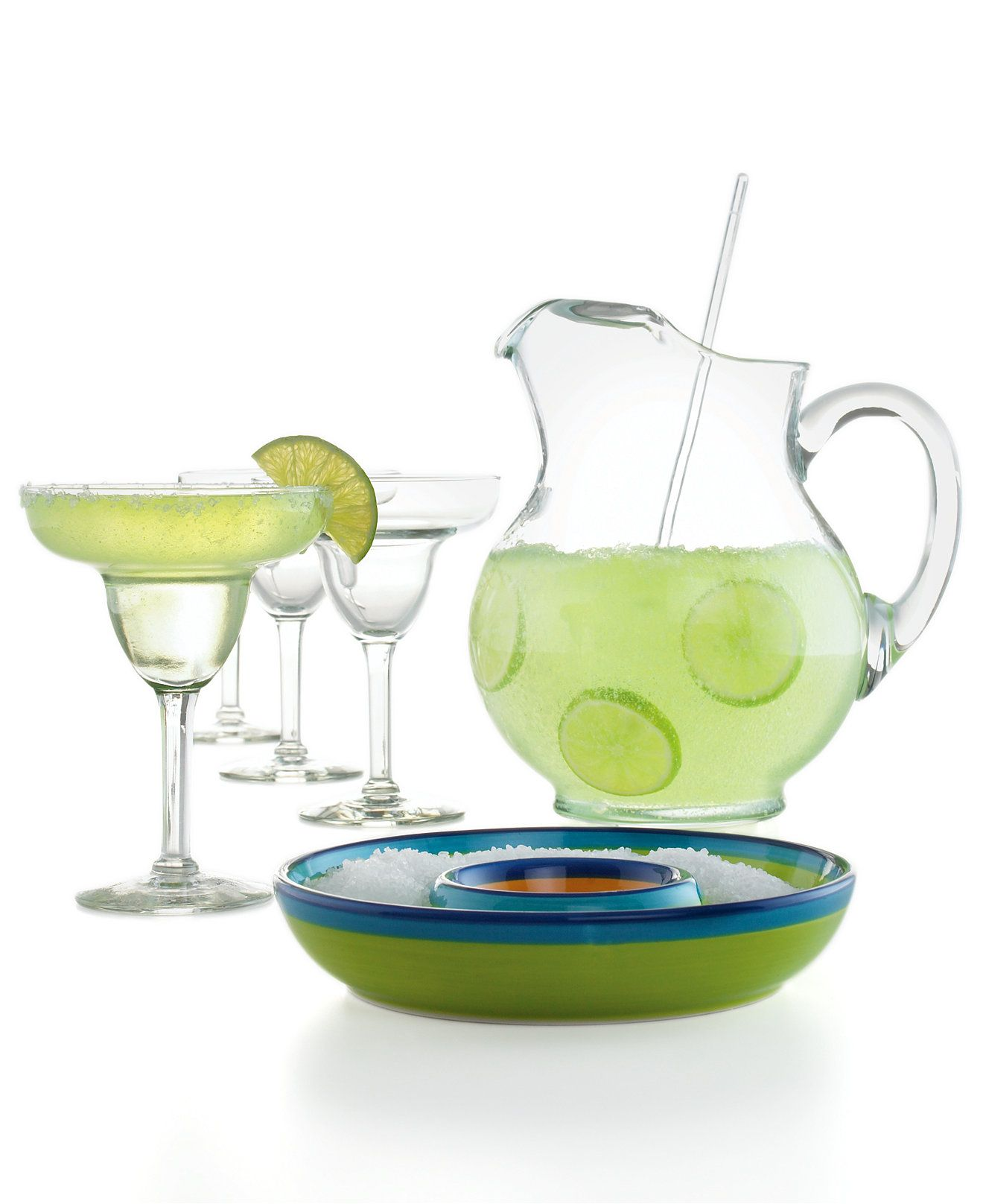 Macy Wedding Gifts: The Cellar Glassware, Margarita 7 Piece Set