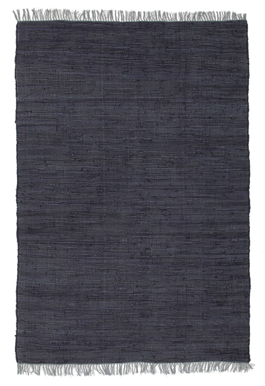 Abby Code Navy Flat Weave Cotton Rug Rugs Express Online Australia