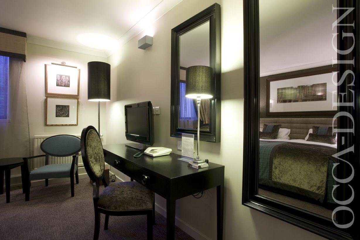 hotel interior, bedroom interior, scottish interior, contemporary