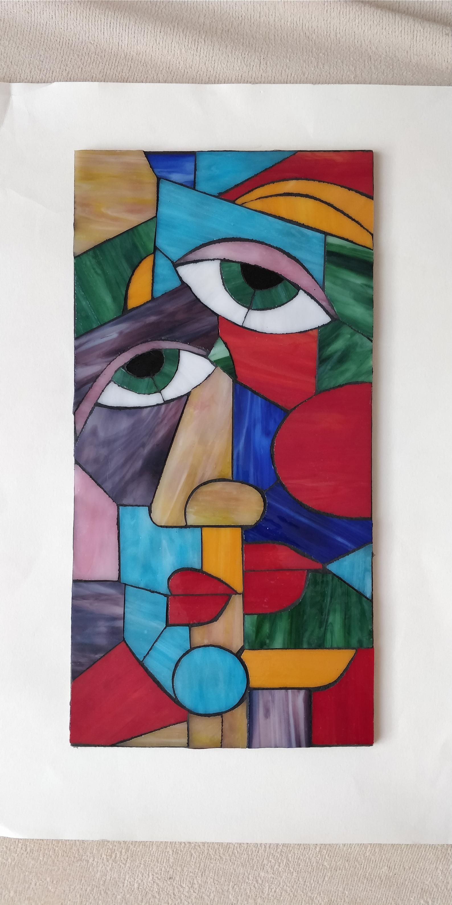 Picasso-Mosaik | Peinture picasso, Peintures picasso et Peintures d'art abstrait