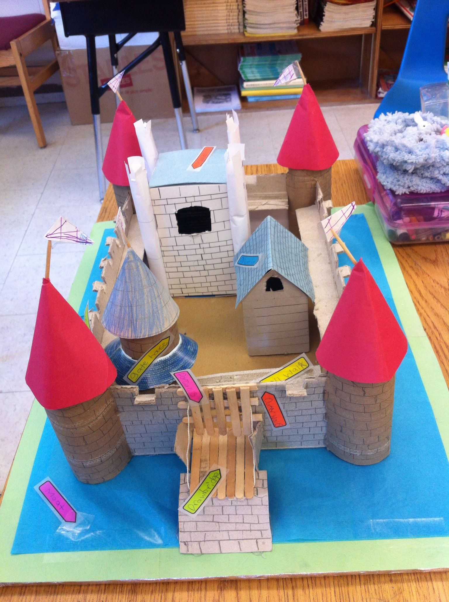 Castle project art teaching ideas pinterest castles for Arts and crafts for school