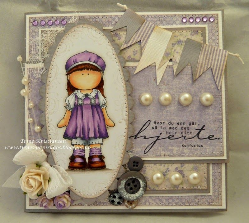 Hanglar girl stamp
